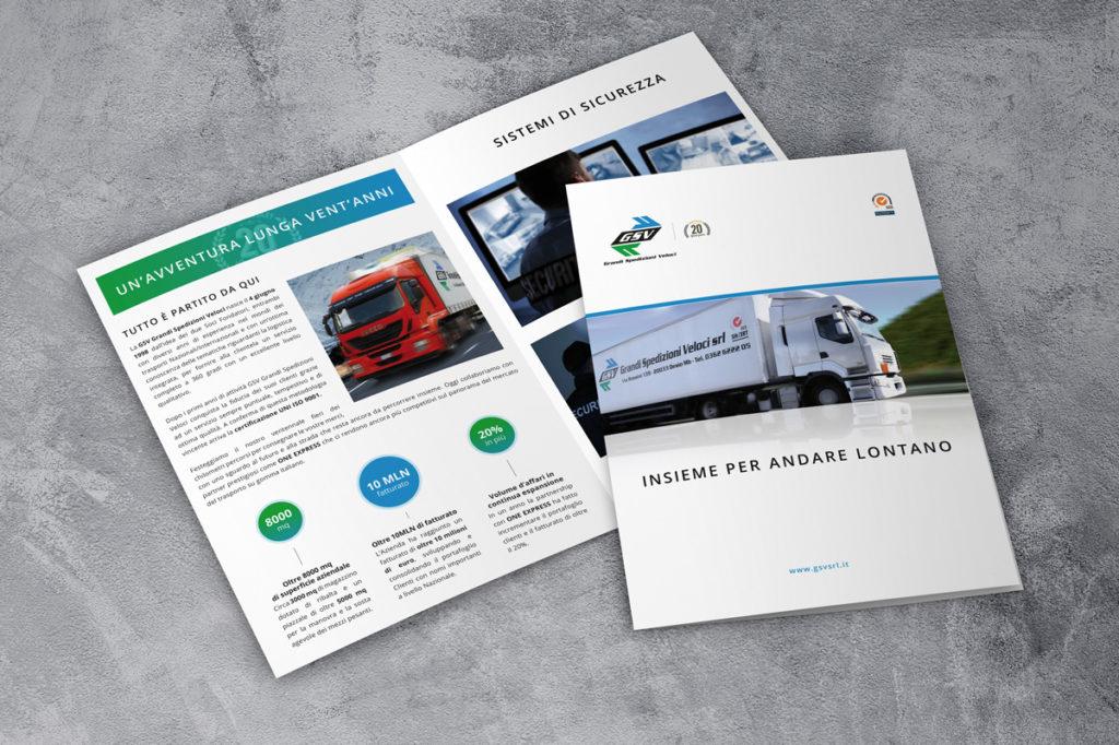 Brochure Aziendale GSV Grandi Spedizioni Veloci